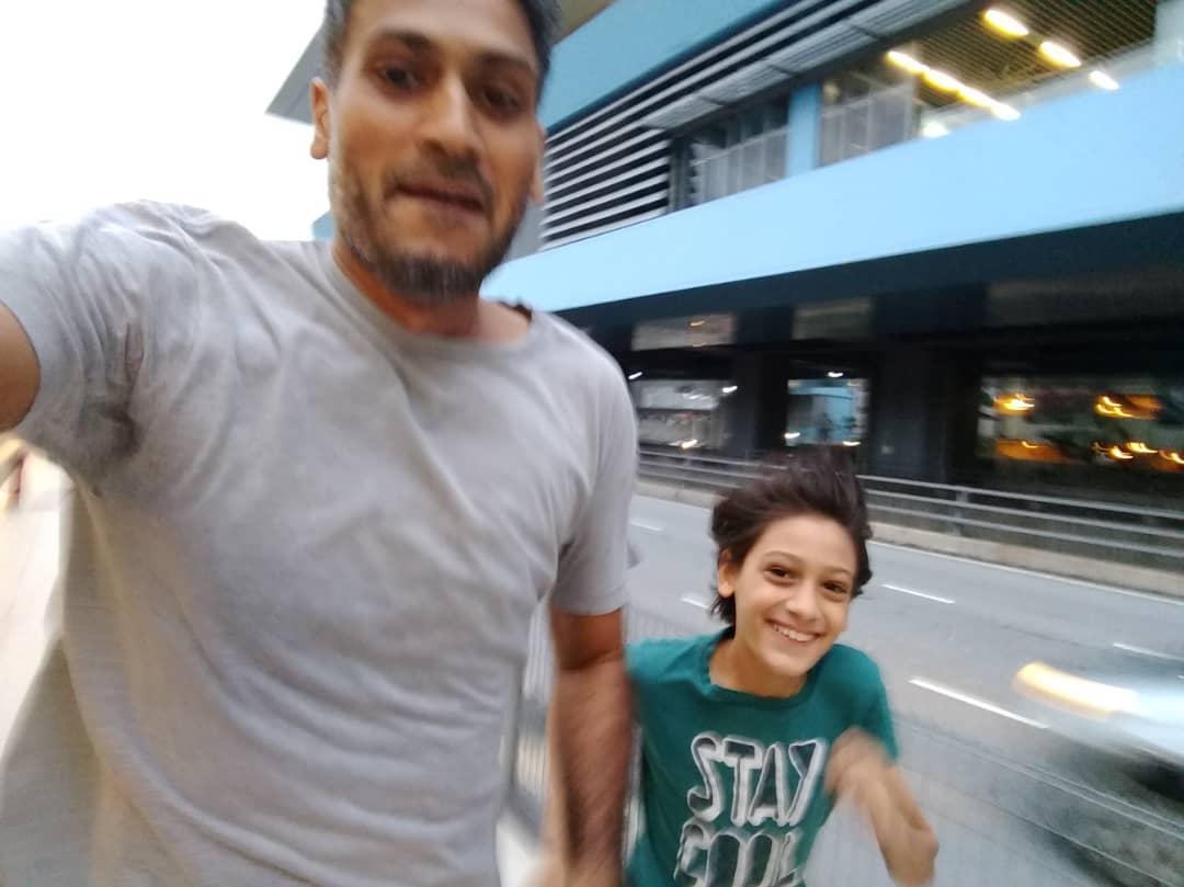 A Morning Run…